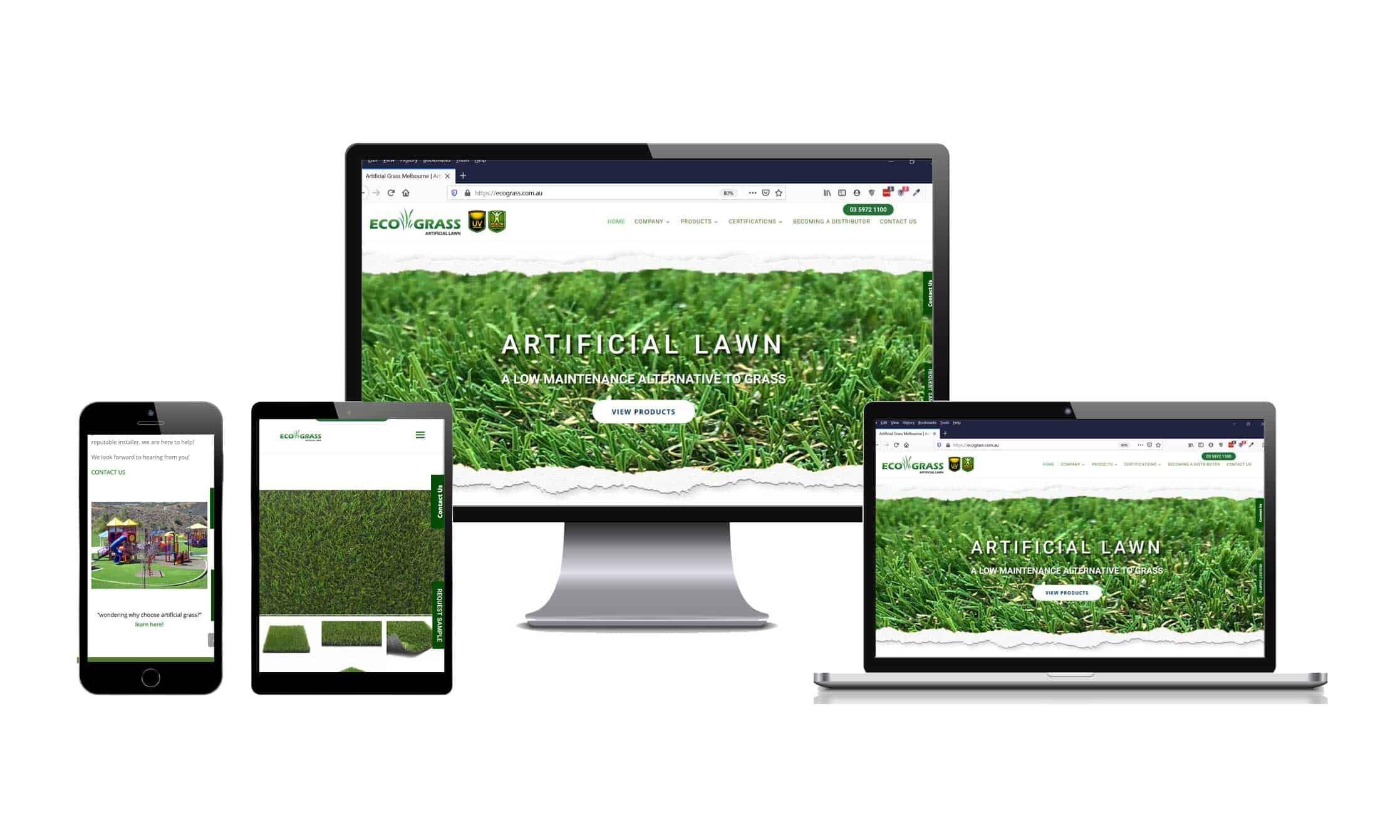 Eco-Grass Web Design