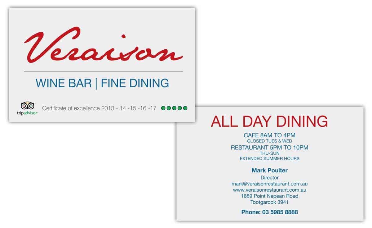 Veraison Business Card 1